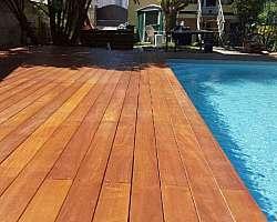 Fabricante de deck de madeira