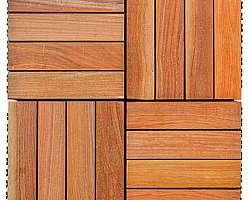 Deck de madeira plástica