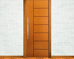 Porta vai vem madeira