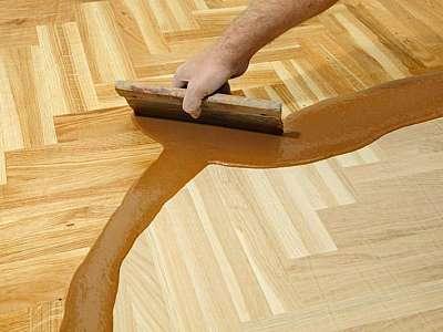 Manutenção taco madeira