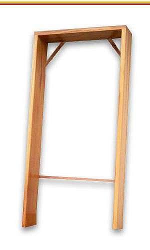 Batentes para porta de madeira