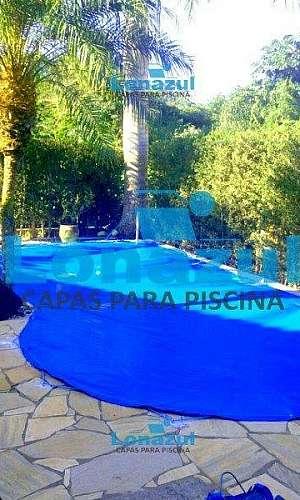 Capa pvc para piscina