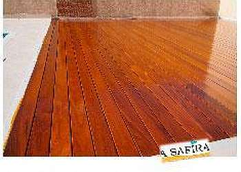 Deck madeira santo