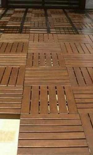 Deck de madeira modular