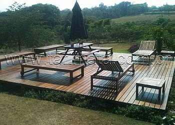 Deck madeira plástica preço