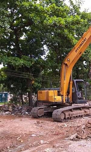 Demolição e terraplanagem em SP
