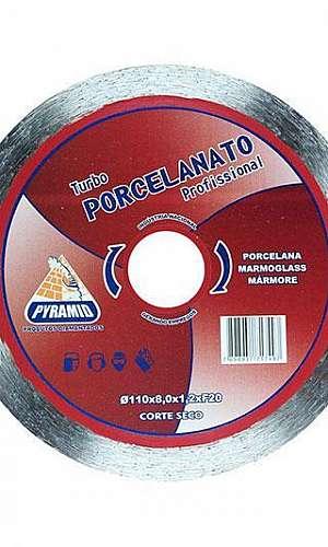 Disco diamantado para porcelanato