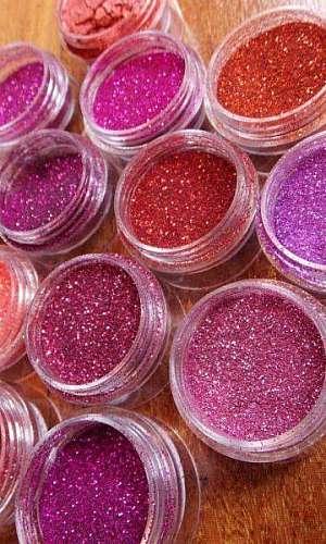 Fornecedores de glitter