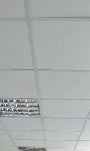 Forro modular de isopor