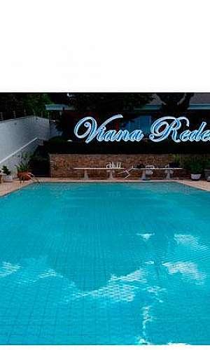 Instalação de rede para piscina