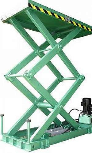 Plataforma pantográfica hidráulica