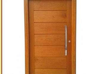 Porta madeira preço