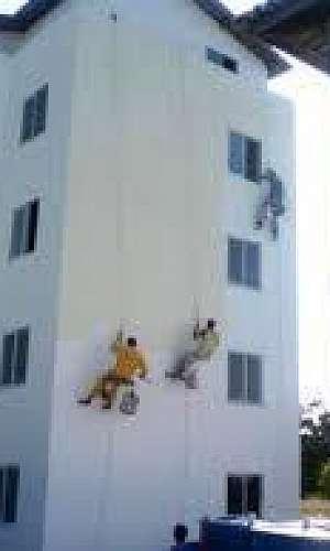 Restauraçăo de fachada predial SP