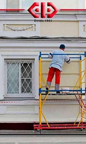 Restauração de fachada predial