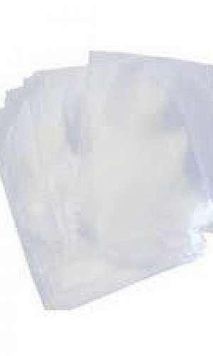 Saco plástico sanfonado