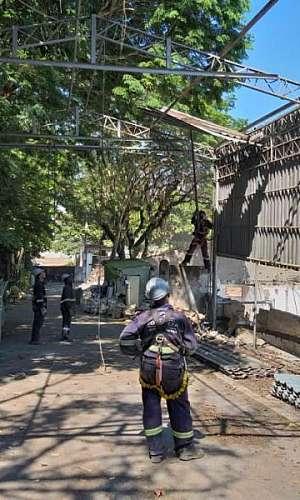 Serviços de demolição em SP