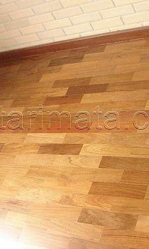 Taco de madeira preço M2