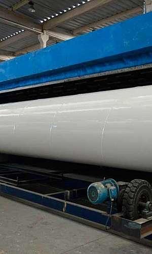Tubo helicoidal aço carbono